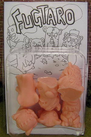 Fugtaro Figures Rubber MUSCLE