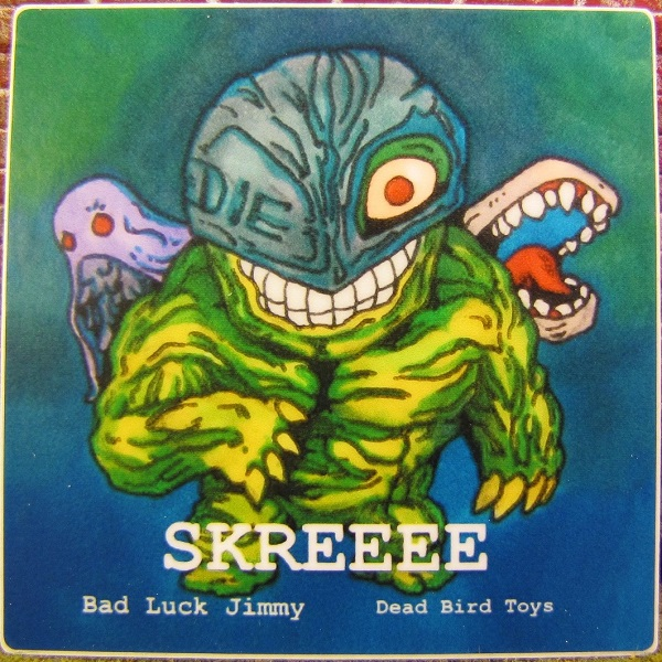 Skreeee Sticker Art